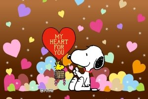 new Snoopy Valentine Wallpaper 2160x1920