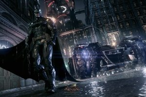 download free Batman Arkham Knight 4K Wallpaper 1920x1080 htc