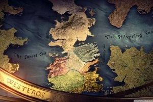 new Map of Westeros Wallpaper 1920x1080