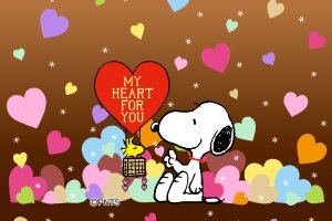 Snoopy Valentines Day Wallpaper 2160x1920 720p