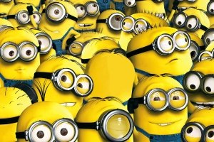 top 3D Wallpaper Minions 2880x1800 for 1080p