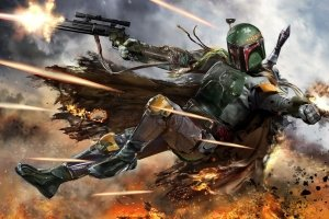 best HD Boba Fett Wallpaper 1920x1080 ipad retina