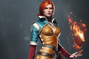 download Triss Merigold Wallpaper 1920x1080 pictures