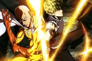 One Punch Man Wallpaper HD 2880x1800 free download