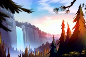 beautiful Gravity Falls HD Wallpaper 1920x1080
