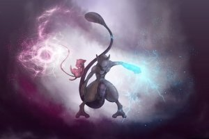 download Pokemon HD Mewtwo Wallpapers 1920x1080