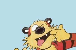 Calvin and Hobbes iPhone Wallpaper 1080x1920 for android