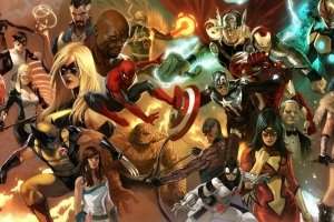 download free Marvel Dual Monitor Wallpaper 3840x1080