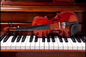 Piano and Violin Wallpaper 1920x1080 for ios