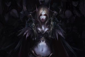 Lady Sylvanas Windrunner Wallpaper 1920x1152 for iPad Pro
