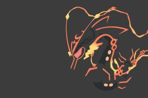 Shiny Mega Rayquaza Wallpaper 1920x1080 iPhone