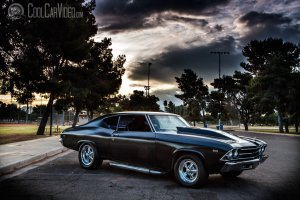 large 69 Chevelle Wallpaper 2222x1481 high resolution
