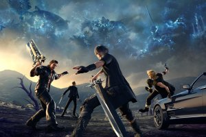 large Final Fantasy XV Wallpaper 3200x1800