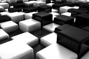 Black and White Abstract Wallpaper 2560x1600 windows 10