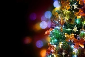 Christmas Lights Wallpapers and Screensavers 2880x1800 free download